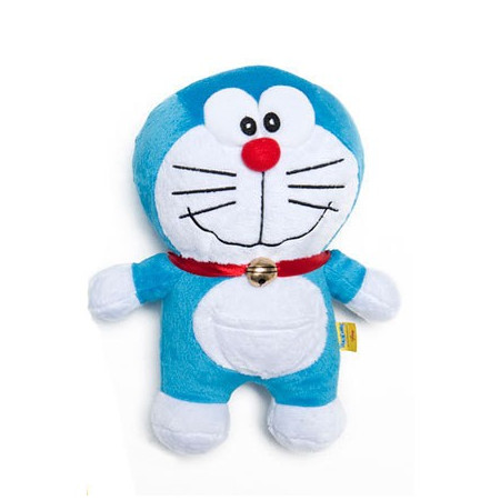 Peluche Supersoft 21 cm Doraemon boca cerrada