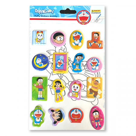 Puffy Stickers Activity Doraemon