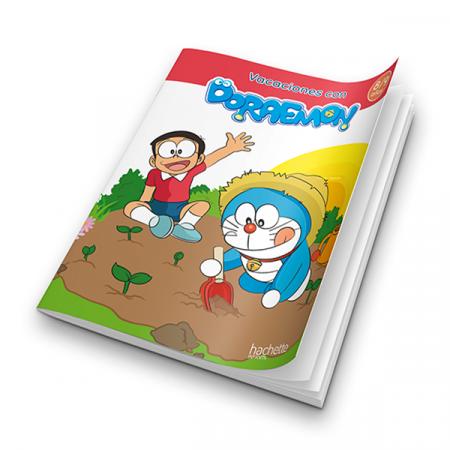 Cuaderno Doraemon Feliz Verano 8-9 años