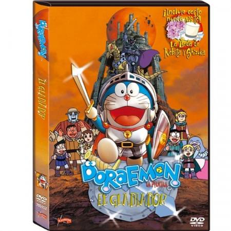 DVD Doraemon el Gladiador