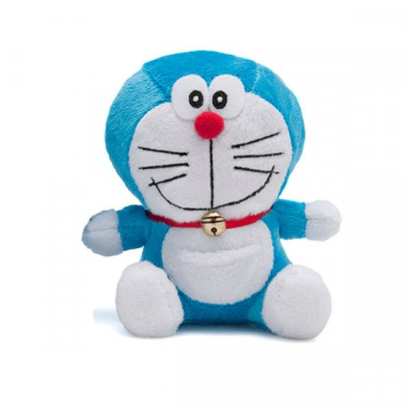 Peluche Supersoft 14 cm Doraemon boca cerrada