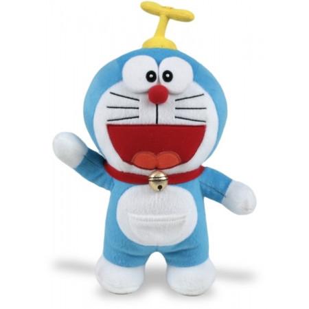 Peluche velboa 21 cm Doraemon Gorrocóptero