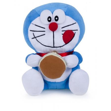 Peluche velboa 25 cm Doraemon Dorayaki