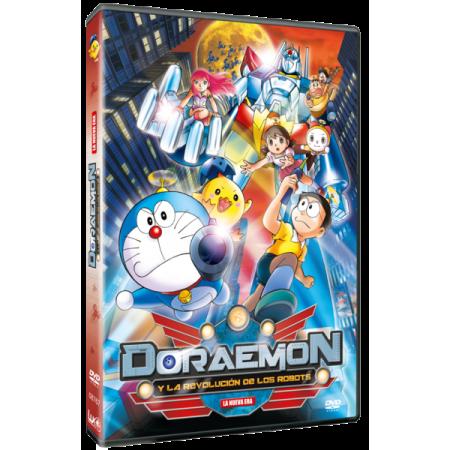 DVD Doraemon y la revolución de los robots