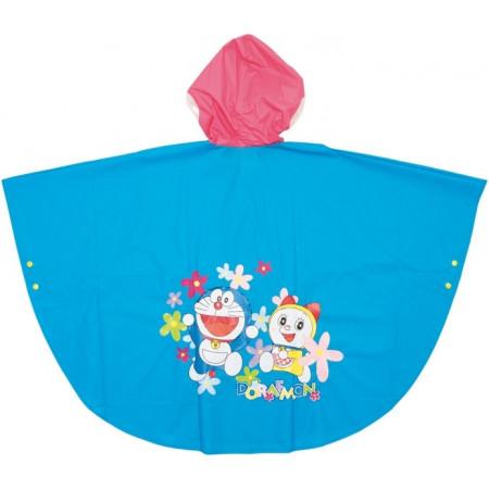 Doraemon chubasquero tipo poncho pvc con mochila