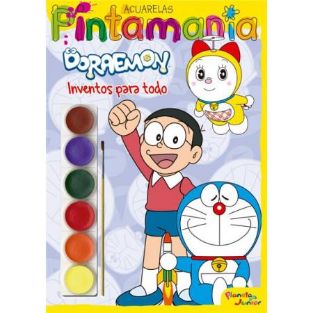 Pintamania Acuarelas Doraemon