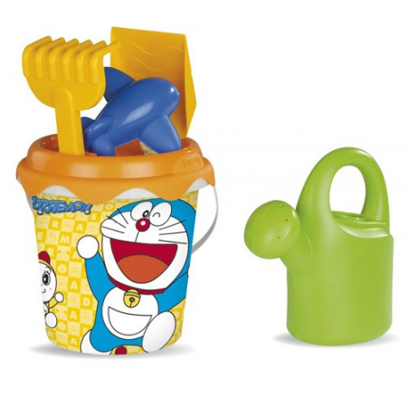 Cubo de playa Doraemon